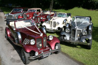 1930's style Beauford Wedding Cars by Halifax Wedding Cars